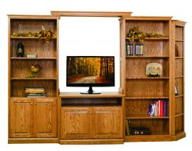 Rocky Ridge Furniture Entertainment Wall Unit