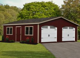 B&B Structures Elite Double Wide Garage
