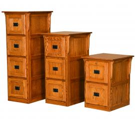 Ames Woodworking File Cabinets (Available with 2,3, and 4 drawers)