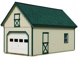 J&N Structures 12 Pitch Garage