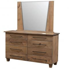 Veraluxe Grand Sequoia Dresser With Mirror
