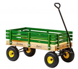 Lapp Wagons John Deere Green Speedway Express Wagon