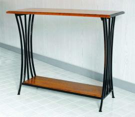 Morris Hill Metal Craft Hall Table