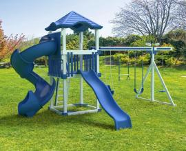 Swing Kingdom KC10 Economy Turbo Swing Set