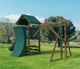 Swing Kingdom KC8 Fitness Play Set