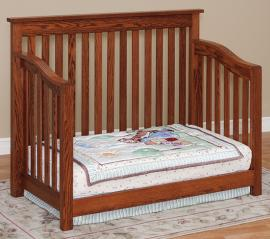 Fisher's Quality Products Mission Crib (Converted to Day Bed)