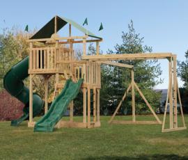 D&S Woodworking Model 1851 Wood Playsets