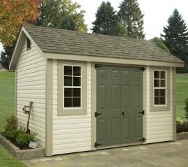 B&B Structures New England Storage Shed