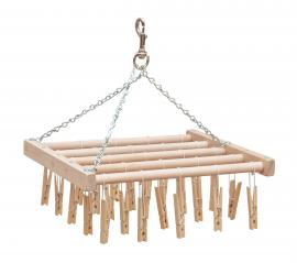 Red Hill Woodworks Spoke and Cothespin Drying Rack (New Design!)