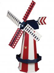 Beaver Dam Woodworks Patriotic Windmill