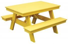 Meadowview Lawn Creations Child's Picnic Table