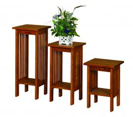 "Ames Woodworking Plant Stands (Available in 30"", 25"", and 18"")"