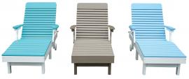 Meadowview Lawn Creations Chaise Lounge Chairs