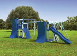 Swing Kingdom RL20 Fitness Play Set
