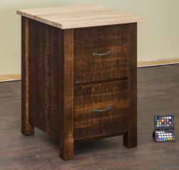 Ames Woodworking Filing Cabinet
