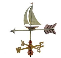 Zook's Poly Craft Sailboat Weather Vane