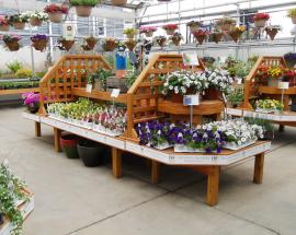 Smucker's Woodcrafts Garden Center Display System