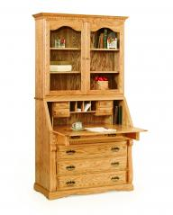 Rocky Ridge Furniture Secretary Desk with Hutch