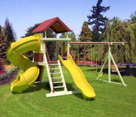 Swing Kingdom SK18 Mountain Climber Swing Set