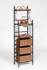 Morris Hill Metal Craft Small Baker's Rack