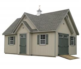 Sunrise Structures Custom Storage Shed