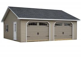 Sunrise Structures Custom Two-Car Garage