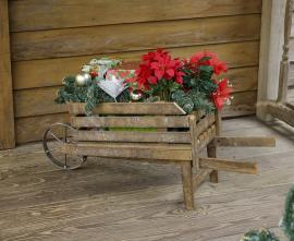 Eastside Frames Wheelbarrow Planter