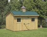 Solanco Structures Storage Shed with Cupola