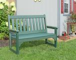 Meadowview Lawn Creations English Garden Bench