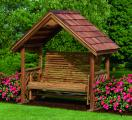 Kinzer Woodworking 6 Foot Chalet Glider