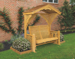 Kinzer Woodworking 6 Foot Garden Glider