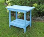 Meadowview Lawn Creations Powder Blue Accent Table