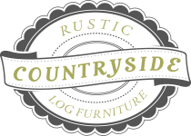 Countryside Rustic Log Logo