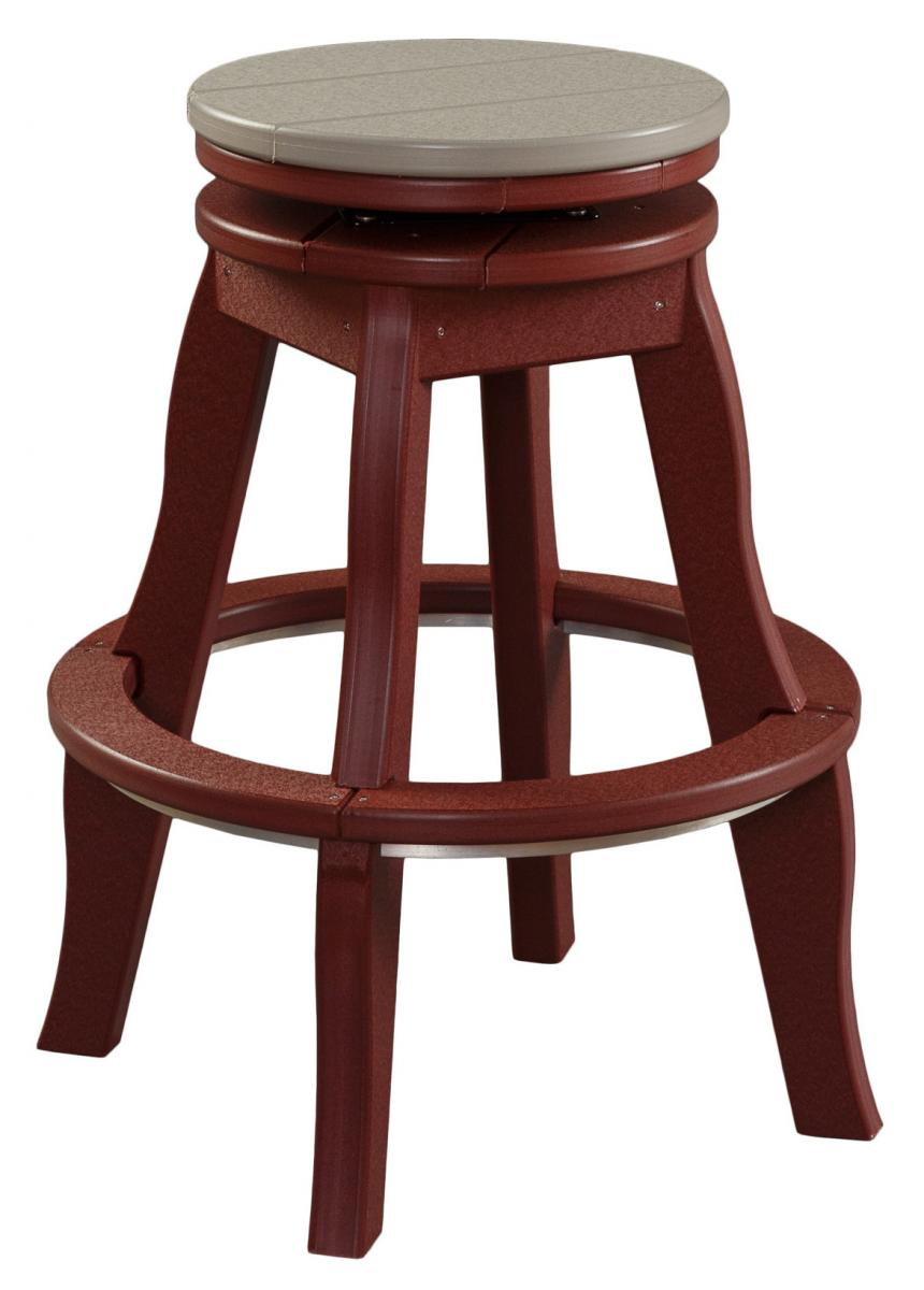 Tabor Hill Woodshop stool made with poly