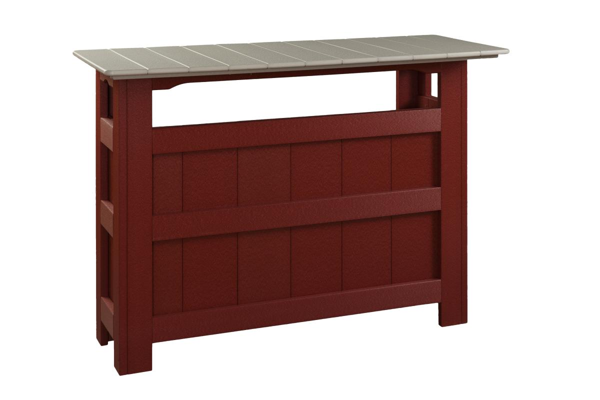 Tabor Hill Woodshop bar table